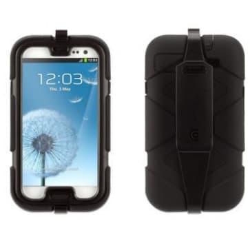 Griffin Survivor Black with Belt Clip for Samsung Galaxy S3 III