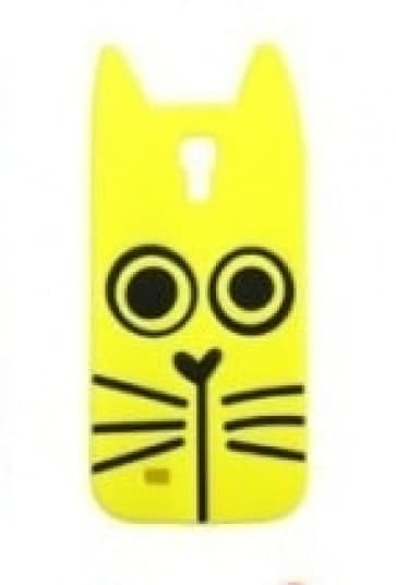 Marc Jacobs Rue Cat Yellow Galaxy S4 Case