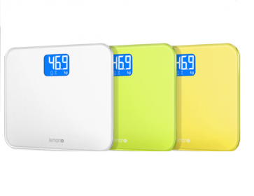 Bluetooth Sync Smart Scale and Body Analyzer Lemon TouchX Android iOS