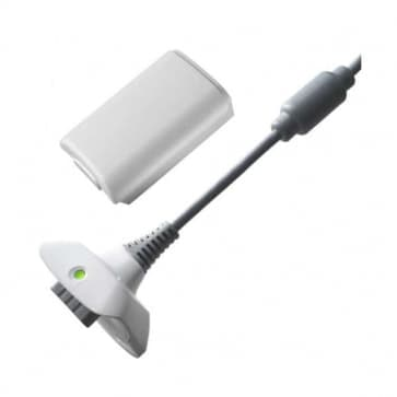 Xbox 360 Play and Charge Kit (White)
