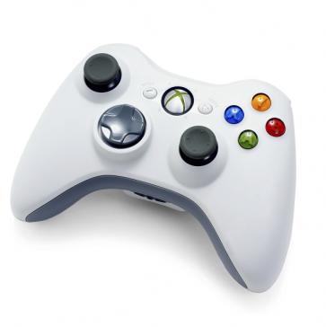 Microsoft Wireless Controller - Xbox 360 - White- NSF-00001