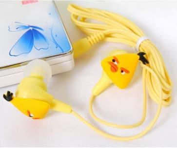 Angry Birds Headphones - Yellow Bird