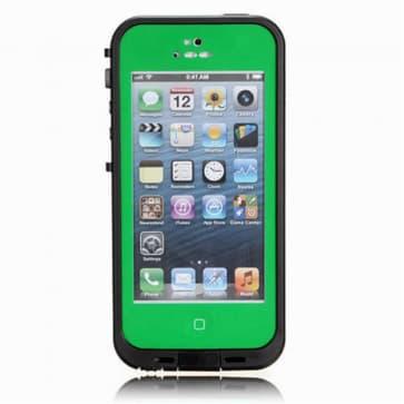 Waterproof Shockproof iPhone 5 Waterproof Protective Case Green
