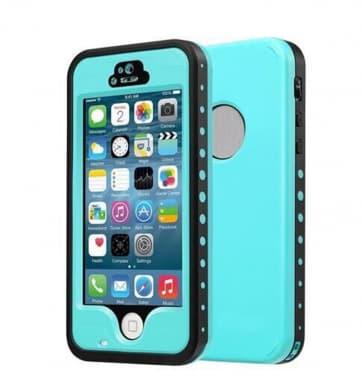 Waterproof Shockproof iPhone 5 Waterproof Protective Case - Teal