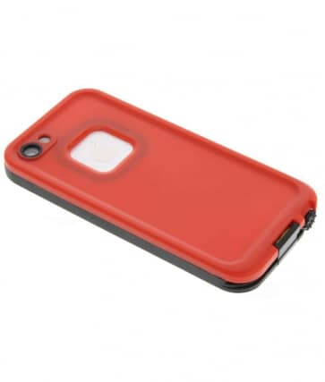 Waterproof Shockproof iPhone 5 Waterproof Protective Case - Red