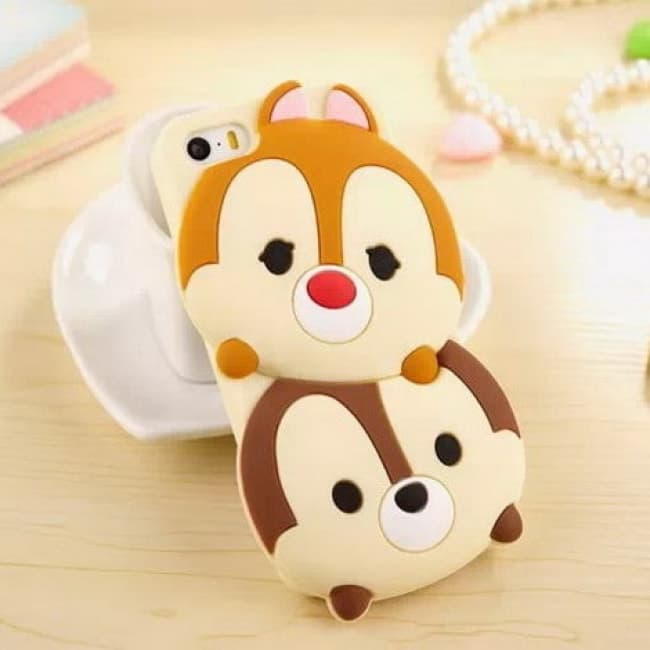 Tsum Tsum Chip And Dale Case For Iphone 6 6s Plus Tablet Phone Case