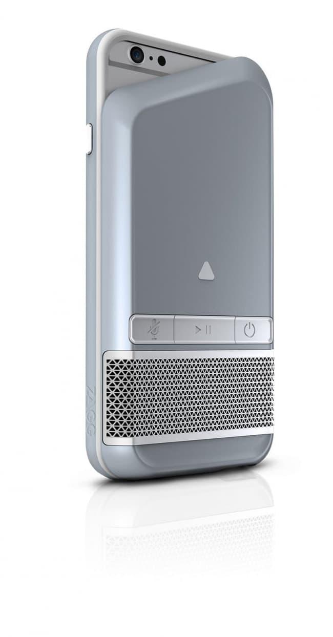 Zagg Popline Bluetooth Speaker Case for iPhone 9 9s