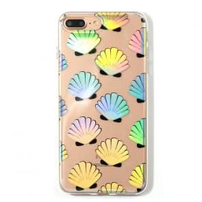 Shiny Shelly Shell iPhone X Case