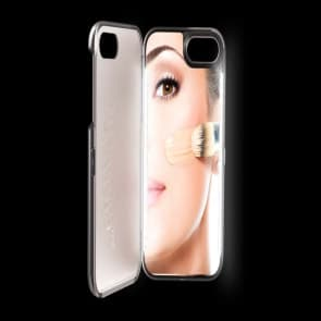 Amiga Box LED Makeup Mirror Case for iPhone X