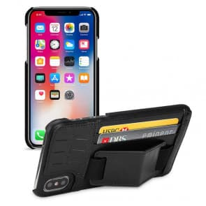 Handstrap Wallet Case for iPhone X