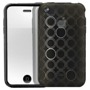 iSkin Solo FX Onyx Black Case iPhone 3G 3GS