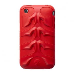 SwitchEasy Red CapsuleRebel M Menace Case for iPhone 3G 3GS