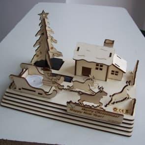 DIY Solar Kits Merry Christmas Kit