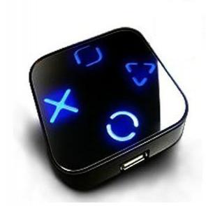 USB Hub Blue Led Backlit