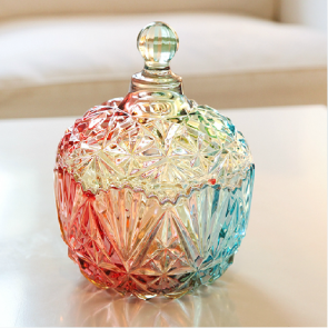 Home Decor Colorful Designer Candy Tea Leaf Container Jar