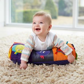 Mamas & Papas Babyplay-Tummy Time Activity Toy & Rug