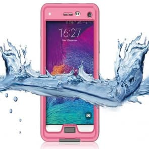 Waterproof Shockproof Case with Stand for Galaxy Note 4