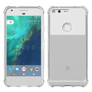 Clear Air Cushion Case for Google Pixel