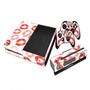 Lipstick Lips Decal Set for Xbox One and Controller