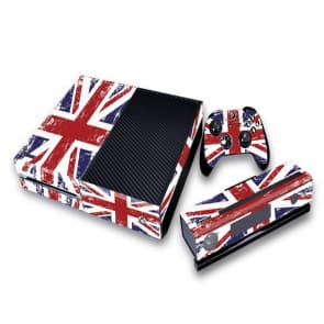 UK British Flag Union Jack Decal Set for Xbox One and Controller
