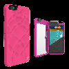 iFrogz Charisma Wallet Mirror Case for iPhone 6 6s Plus Hot Pink