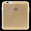 Rock iPhone 6 6s Plus 5.5 inch TPU Case Clear Gold