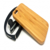 Hand Crafted Bamboo Wood Slider Case for iPhone 6 6s Plus