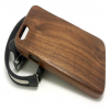 Hand Crafted Rosewood Wood Slider Case for iPhone 6 6s Plus