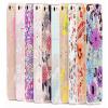 Ultra Thin Cute & Elegant Wonderland Flower Pattern iPhone 6 6s Plus 5.5 Jelly TPU Case