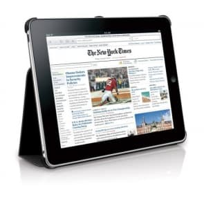 Macally Bookstand iPad Case Stand Sort