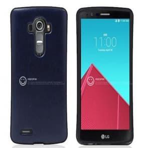 LG G4 Leather Back Bumper Case