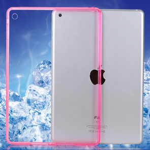 Thin See Through Case with Bumper For iPad 2 3