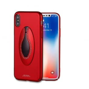 iPhone X Fancy Mirror Stand Case