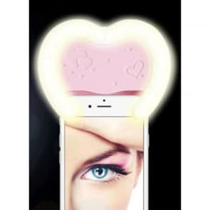 LED Selfie Beauty Heart Flash for Galaxy S7, S7 Edge