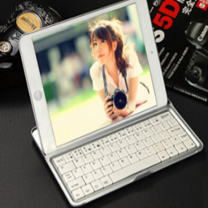 Wireless Bluetooth Keyboard and Stand for iPad 4 3 2
