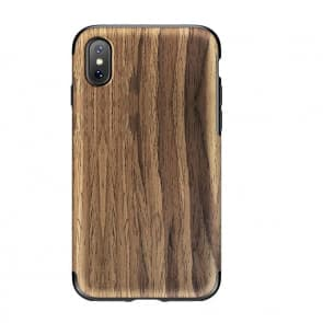 Rock Wood Pattern Case for iPhone X