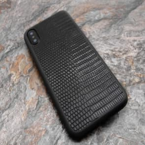 Rugged Lizard Skin Pattern Case for iPhone X