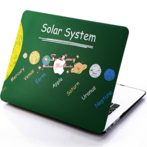 MacBook Pro Skin Shell Full Body Case for MacBook Air Pro Retina 11 13 15 All Models Solar System