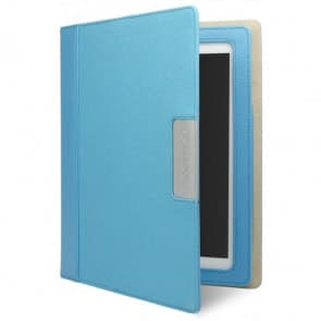 Cygnett Alumni Canvas Case for the new iPad & iPad 2 (Blue Cobalt)