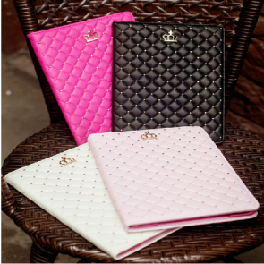 High Fashion Princess Crown Case for iPad 4 3 2