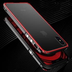 Premium Thin Metal Case for iPhone X