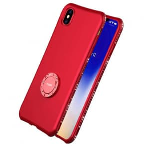 Crystal Studded Ultra Thin Case for Iphone X