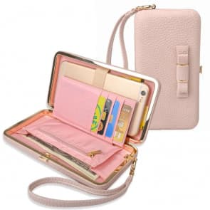 Clutch Wallet Bag Case for All Plus Size Phones, iPhone, Note, Galaxy