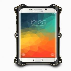 Galaxy S6 Edge Plus Shockproof Metal Bumper Frame Flip Case